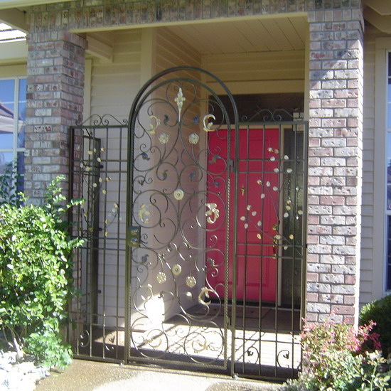 Wrought Iron Security Screen Doors Sacramento Custom Work