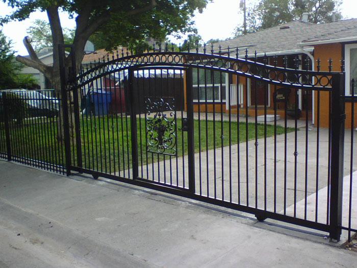Wrought Iron Gates Sacramento Custom Work